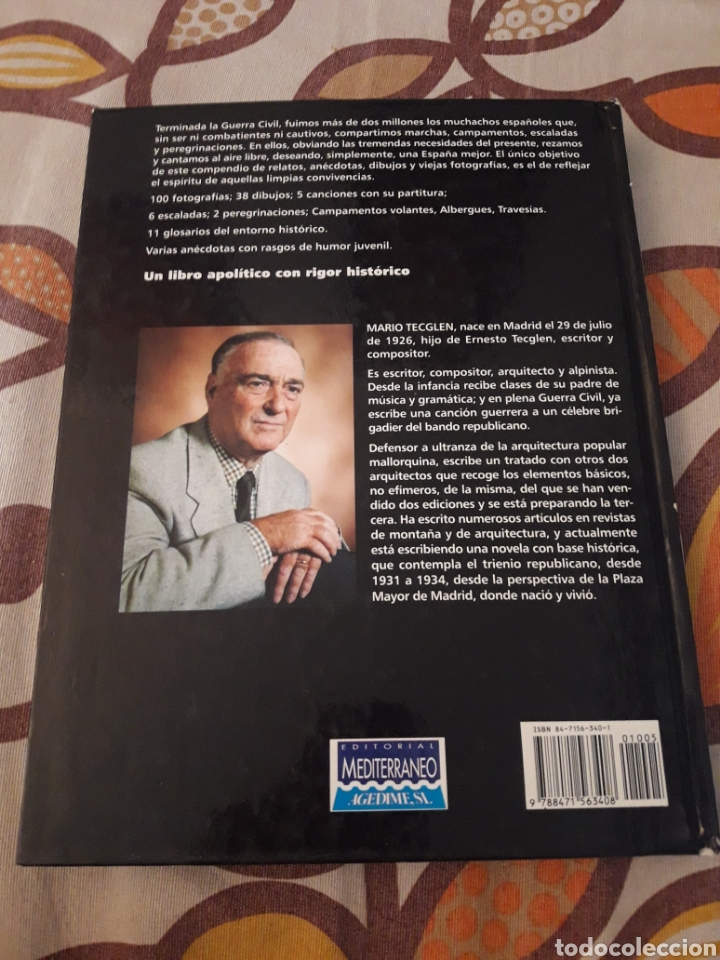 Libros de segunda mano: La juventud del Moral y la canción. Mario Tecglen. Edición Mediterráneo de 1999. Dani. - Foto 2 - 213755026