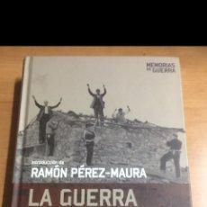 Libros de segunda mano: MEMORIAS DE GUERRA. LA GUERRA CIVIL EN SUS DOCUMENTOS. Lote 213883211