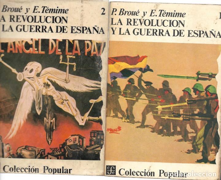 LA REVOLUCIÓN Y LA GUERRA DE ESPAÑA. COMPLETA, LOS DOS TOMOS (Libros de Segunda Mano - Historia - Guerra Civil Española)