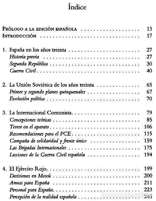Libros de segunda mano: LA VICTORIA FRUSTRADA. UNION SOVIETICA. INTERNACIONAL COMUNISTA. GUERRA CIVIL ESPAÑOLA. F. SCHAUFF. - Foto 4 - 215041417