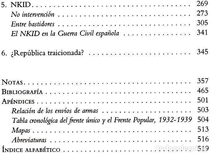 Libros de segunda mano: LA VICTORIA FRUSTRADA. UNION SOVIETICA. INTERNACIONAL COMUNISTA. GUERRA CIVIL ESPAÑOLA. F. SCHAUFF. - Foto 5 - 215041417