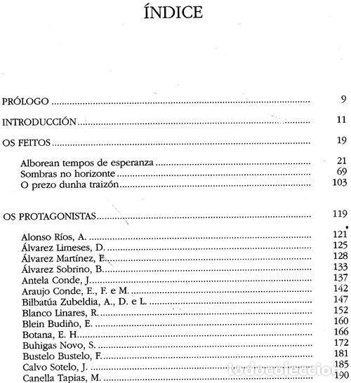 Libros de segunda mano: DEDICADO. A REPUBLICA E A GUERRA CIVIL NA COMARCA DE VIGO A TRAVES DOS SEUS PROTAGONISTAS. GALICIA. - Foto 6 - 215917403