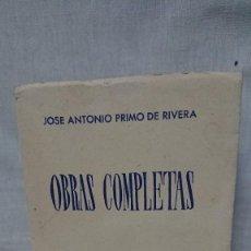 Libros de segunda mano: OBRAS COMPLETAS JOSÉ ANTONIO PRIMO DE RIVERA AÑO 1945. Lote 216917125