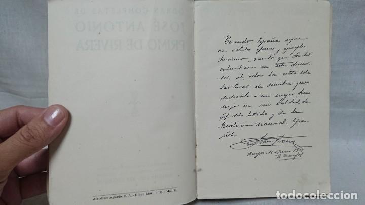 Libros de segunda mano: OBRAS COMPLETAS JOSÉ ANTONIO PRIMO DE RIVERA AÑO 1945 - Foto 3 - 216917125