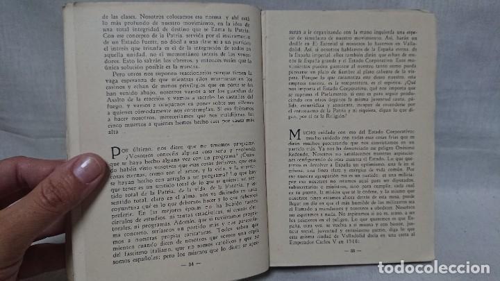 Libros de segunda mano: OBRAS COMPLETAS JOSÉ ANTONIO PRIMO DE RIVERA AÑO 1945 - Foto 5 - 216917125