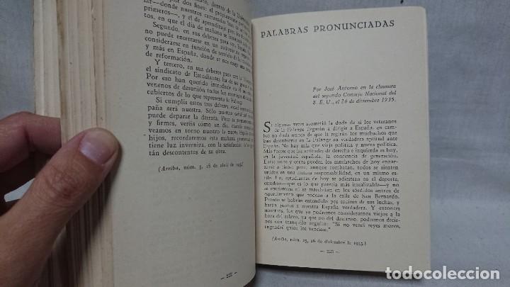 Libros de segunda mano: OBRAS COMPLETAS JOSÉ ANTONIO PRIMO DE RIVERA AÑO 1945 - Foto 6 - 216917125