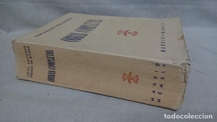 Libros de segunda mano: OBRAS COMPLETAS JOSÉ ANTONIO PRIMO DE RIVERA AÑO 1945 - Foto 9 - 216917125