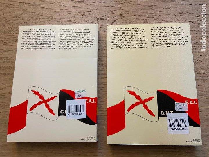 Libros de segunda mano: DICCIONARIO DE LA GUERRA CIVIL ESPAÑOLA 1 Y 2 - MANUEL RUBIO CABEZA EDITORIAL PLANETA - Foto 6 - 217143712