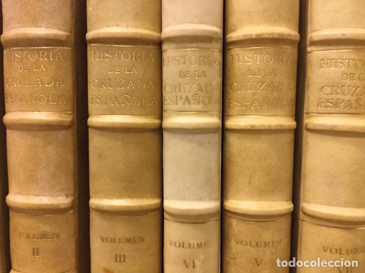 Libros de segunda mano: HISTORIA DE LA CRUZADA ESPAÑOLA - 7 VOLÚMENES - EDICIONES ESPAÑOLAS - 1940 - Foto 2 - 217936478