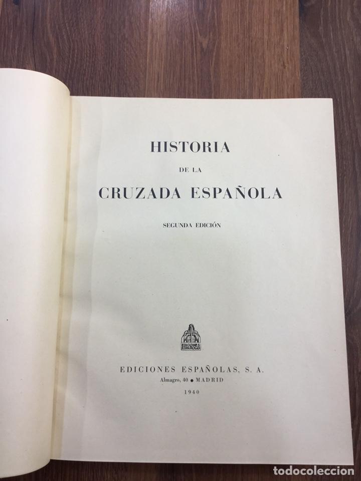 Libros de segunda mano: HISTORIA DE LA CRUZADA ESPAÑOLA - 7 VOLÚMENES - EDICIONES ESPAÑOLAS - 1940 - Foto 6 - 217936478