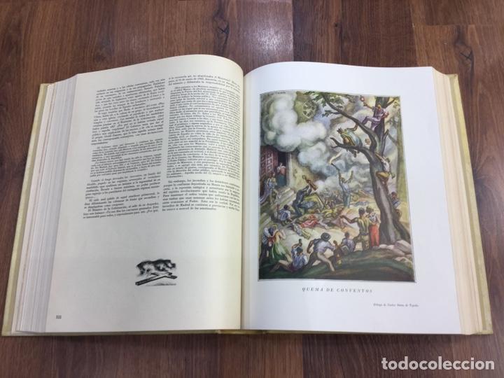 Libros de segunda mano: HISTORIA DE LA CRUZADA ESPAÑOLA - 7 VOLÚMENES - EDICIONES ESPAÑOLAS - 1940 - Foto 10 - 217936478