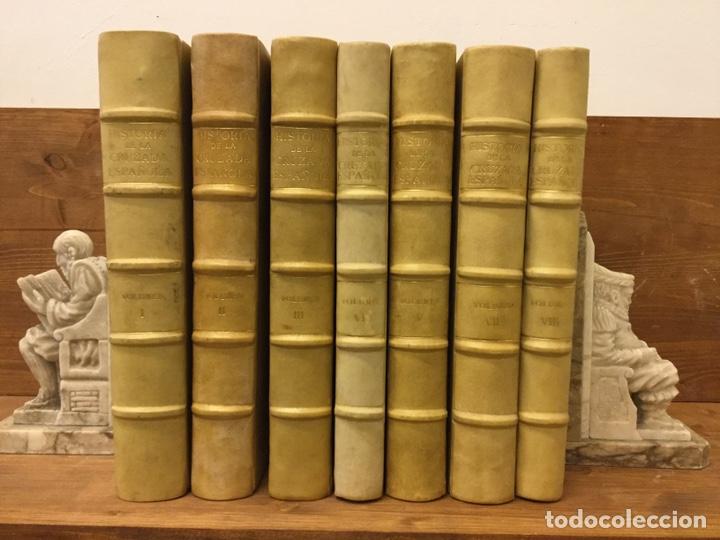 HISTORIA DE LA CRUZADA ESPAÑOLA - 7 VOLÚMENES - EDICIONES ESPAÑOLAS - 1940 (Libros de Segunda Mano - Historia - Guerra Civil Española)