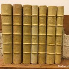 Libros de segunda mano: HISTORIA DE LA CRUZADA ESPAÑOLA - 7 VOLÚMENES - EDICIONES ESPAÑOLAS - 1940. Lote 217936478