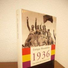 Libros de segunda mano: ENRIQUE MORADIELLOS: 1936. LOS MITOS DE LA GUERRA CIVIL (PENÍNSULA, 2004) TAPA DURA. Lote 218322803