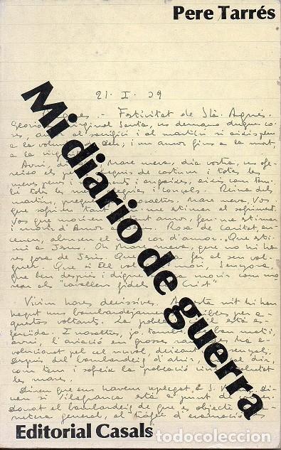 MI DIARIO DE GUERRA - 1938-1939 (Libros de Segunda Mano - Historia - Guerra Civil Española)
