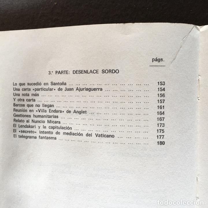 Libros de segunda mano: El pacto de Santoña. Alberto Onaindia. (P. Olaso). - Foto 7 - 219049963