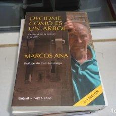 Libros de segunda mano: DECIDME COMO ES UN ARBOL. Lote 219064986
