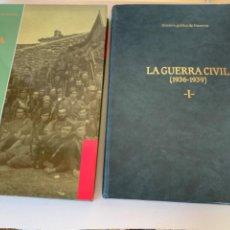 Libros de segunda mano: HISTORIA GRÀFICA DE MANRESA, LA GUERRA CIVIL (1936-1939). Lote 219080952