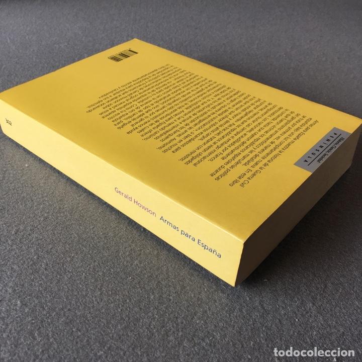 Libros de segunda mano: Armas para España. Gerald Howson. - Foto 6 - 219324335
