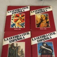 Libros de segunda mano: LA GUERRA CIVIL ESPAÑOLA EDICIONES URBIÓN TOMOS 2,3 ,11 Y 12. Lote 219707871