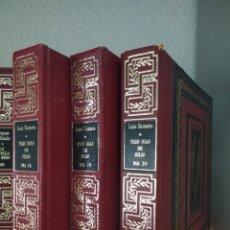 Libri di seconda mano: 3 DÍAS DE JULIO DÍAS 18 19 20 3 TOMOS LUIS ROMERO AMIGOS DE LA HISTORIA( GUERRA CIVIL ). Lote 219920421