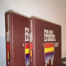 Libros de segunda mano: PORQUE PERDIMOS LA GUERRA.. Lote 220614805