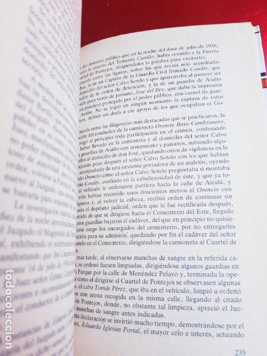 Libros de segunda mano: LIBRO-LA NOCHE QUE MATARON A CALVO SOTELO-IAN GIBSON-ARGOS VERGARA-5ªEDICIÓN-1982 - Foto 9 - 220953440