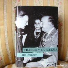 Libros de segunda mano: FRANCO Y LA IGLESIA. HOMOLEGENS. NUEVO.. Lote 221483121
