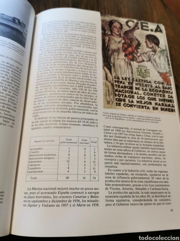 Libros de segunda mano: Libro Historia general de la guerra de España Salas Larrazábal - Foto 4 - 221546148