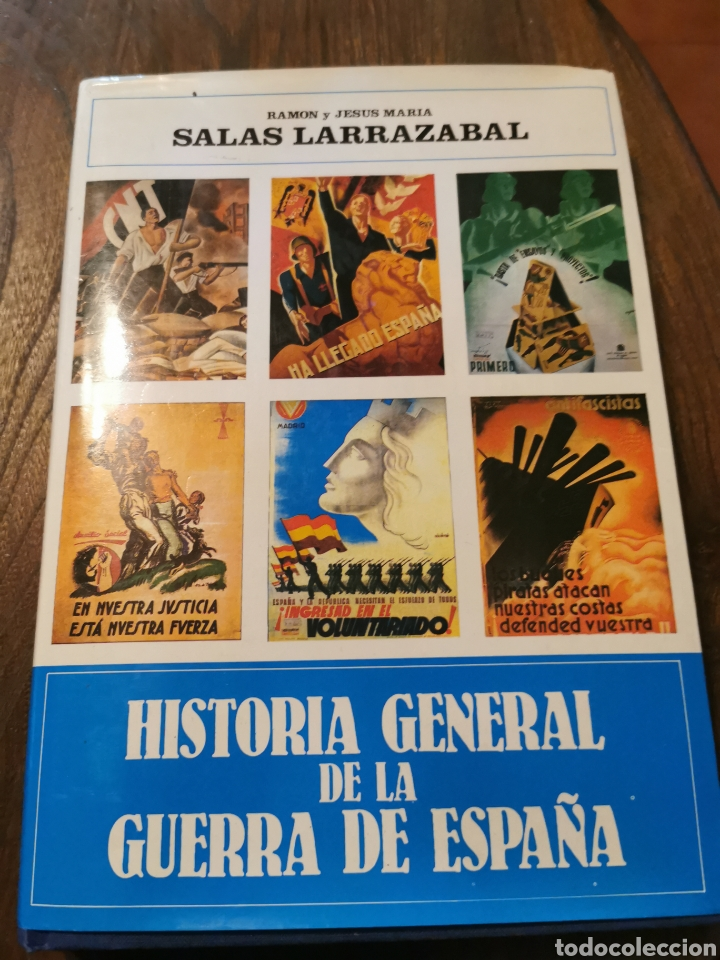 LIBRO HISTORIA GENERAL DE LA GUERRA DE ESPAÑA SALAS LARRAZÁBAL (Libros de Segunda Mano - Historia - Guerra Civil Española)