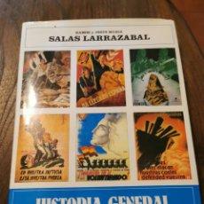 Libros de segunda mano: LIBRO HISTORIA GENERAL DE LA GUERRA DE ESPAÑA SALAS LARRAZÁBAL. Lote 221546148