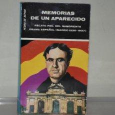 Libros de segunda mano: MEMORIAS DE UN APARECIDO. Lote 221817607