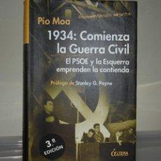 Libros de segunda mano: 1934 COMIENZA GUERRA CIVIL. Lote 221824801