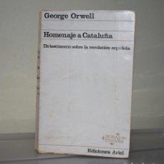 Libros de segunda mano: HOMENAJE A CATALUÑA. Lote 221895922