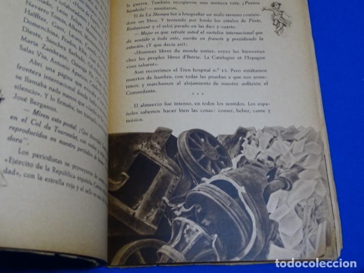 Libros de segunda mano: HAY PIRINEOS.GIMENEZ CABALLERO.1939.NOTAS DE UN ALFÉREZ EN LA IV DE NAVARRA LA CONQUISTA PORT-BOU. - Foto 3 - 222085156