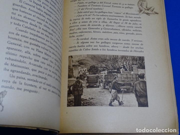 Libros de segunda mano: HAY PIRINEOS.GIMENEZ CABALLERO.1939.NOTAS DE UN ALFÉREZ EN LA IV DE NAVARRA LA CONQUISTA PORT-BOU. - Foto 4 - 222085156