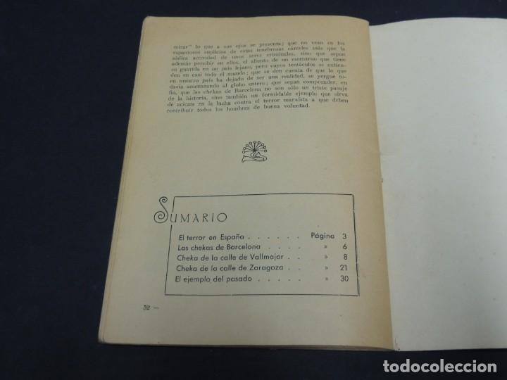 Libros de segunda mano: COMO FUNCIONAN LAS CHECAS DE BARCELONA - Foto 9 - 222093403