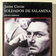 Libros de segunda mano: CERCAS, JAVIER - SOLDADOS DE SALAMINA - TUSQUETS 2001 - 1ª EDICIÓN - 1ST EDITION.. Lote 222671255