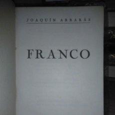 Libros de segunda mano: JOAQUIN ARRARÁS.FRANCO.1937.LIBRERÍA INTERNACIONAL. Lote 222719583