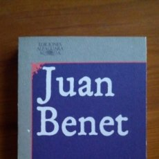 Libros de segunda mano: HERRUMBROSAS LANZAS. JUAN BENET. EDIT.: ALFAGUARA.. Lote 222786918