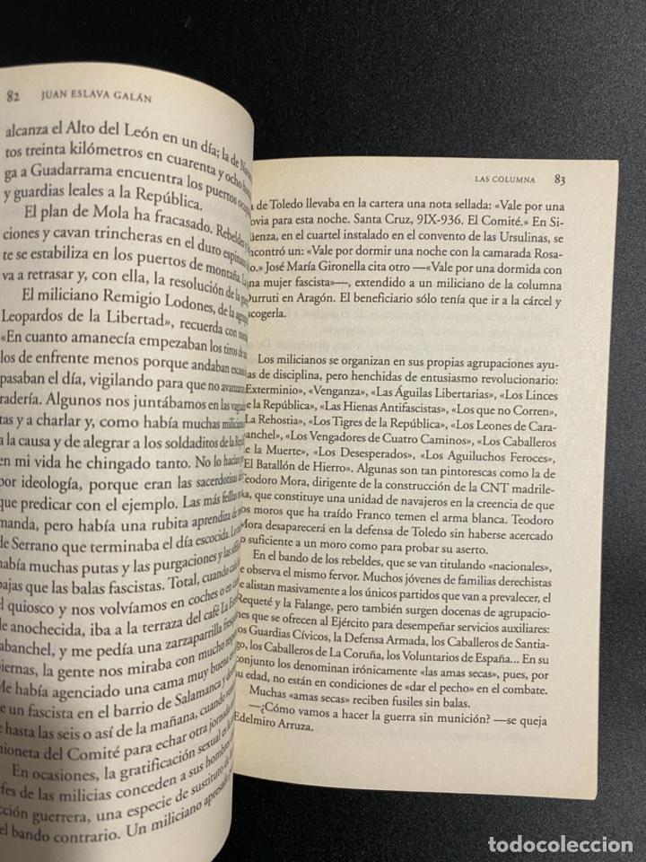 Libros de segunda mano: UNA HISTORIA DE LA GUERRA CIVIL QUE NO VA A GUSTAR A NADIE. JUAN ESLAVA. ED. PLANETA.BARCELONA,2006 - Foto 3 - 222837638