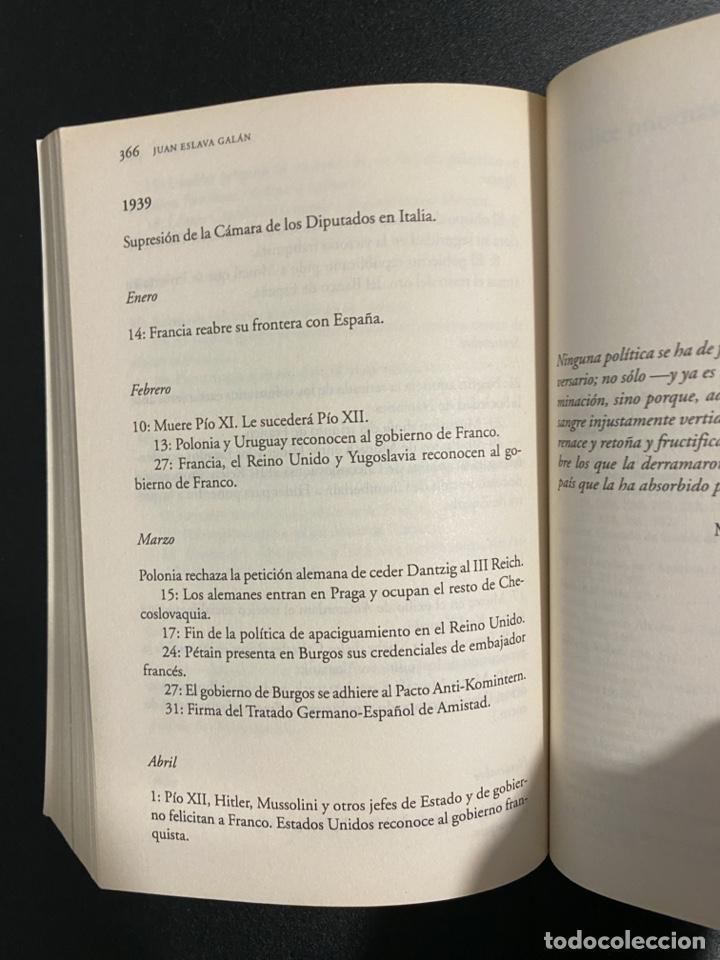 Libros de segunda mano: UNA HISTORIA DE LA GUERRA CIVIL QUE NO VA A GUSTAR A NADIE. JUAN ESLAVA. ED. PLANETA.BARCELONA,2006 - Foto 4 - 222837638