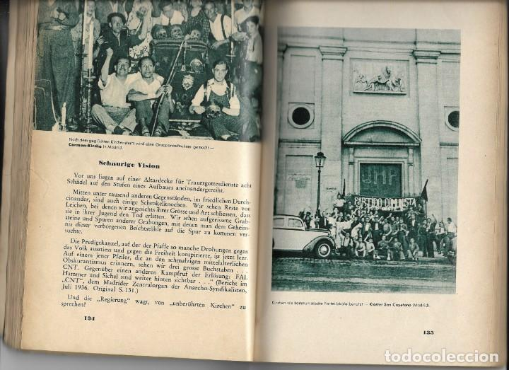 Libros de segunda mano: Das Rotbuch uber spanien, Berlín 1937 (La España Roja) del Colegio Alemán de Málaga - Foto 6 - 208180436