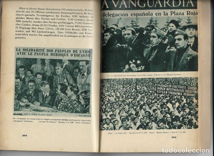 Libros de segunda mano: Das Rotbuch uber spanien, Berlín 1937 (La España Roja) del Colegio Alemán de Málaga - Foto 7 - 208180436