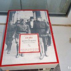 Libros de segunda mano: UN AÑO CON QUEIPO DEL LLANO. Lote 223214631
