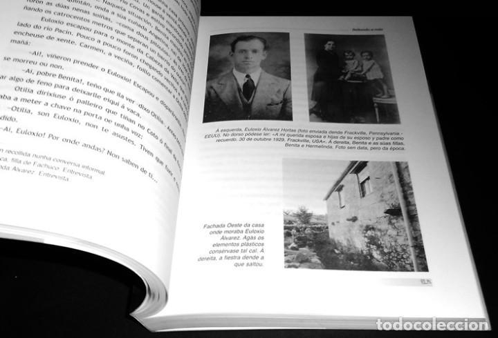 Libros de segunda mano: SALTANDO A RAIA. GUERRILLA REPUBLICANA NO SUROESTE OURENSAN (1939-1943). ORENSE. COMO NUEVO. - Foto 3 - 225384705