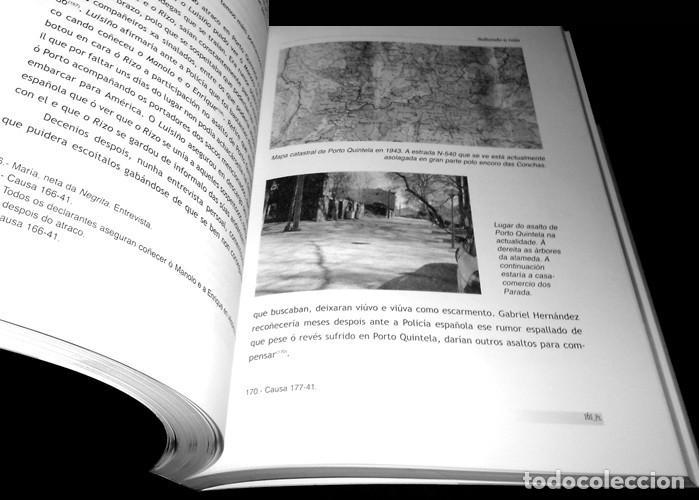 Libros de segunda mano: SALTANDO A RAIA. GUERRILLA REPUBLICANA NO SUROESTE OURENSAN (1939-1943). ORENSE. COMO NUEVO. - Foto 4 - 225384705