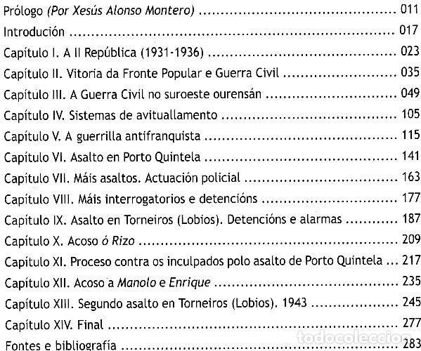 Libros de segunda mano: SALTANDO A RAIA. GUERRILLA REPUBLICANA NO SUROESTE OURENSAN (1939-1943). ORENSE. COMO NUEVO. - Foto 6 - 225384705