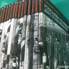 Libros de segunda mano: LA GUERRA CIVIL A CATALUNYA 15 VOLUMENES.EL PERIODICO 2008.. Lote 227989240