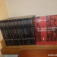 Libri di seconda mano: CATALUNYA DURANT LA GUERRA CIVIL DIA A DIA - COLECCION COMPLETA / 25 TOMOS - DISPONGO DE MAS LIBROS. Lote 230365590